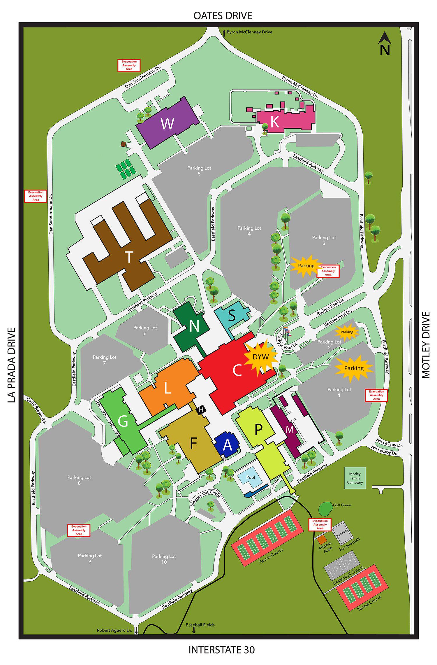 Eastfield College Map Eastfield College Campus Map | autobedrijfmaatje